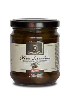 Olive leccino in olio extra vergine d'oliva (biodinamico - Demeter)