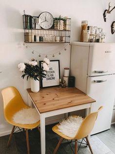Küchen Design, House Design, Design Ideas, Hygge Home, Creation Deco, Decoration Inspiration, Decor Ideas, Modern Dining Table, Home And Deco