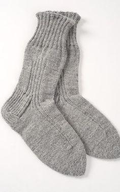 Novita Oy - Neulemalli: Pitkävartinen sukka