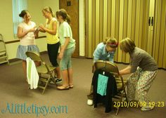 Recently, we decided that we wanted our Young Women Activities to have more spiritual themes. This does not mean that they have to be boring. Our latest Young Women Activity was about missionaries and missionary work and turned out really fun. We started out with a Missionary relay race. 1. Open envelope and see where …