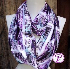 Supernatural Infinity Scarf, Geek scarves, Sci Fi scarves, scarf, gifts for her, women's scarves, Dean & Sam Winchester, Teen Scarf, Scarf by Phatcatpatch on Etsy https://www.etsy.com/listing/183966271/supernatural-infinity-scarf-geek-scarves