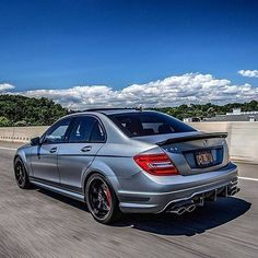 507 reasons to love this Mercedes-AMG C 63. Photo shot by @farisfetyani via @mbusa. Vehicle owned by @_lakeshow_. [C 63 | Combined fuel consumption: 12 l/100 km | combined CO2-emission 280 g/km]