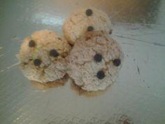 Biscotti con scaglie di cocco e gocce di cioccolato: per una colazione più dolce.