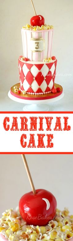 Carnival Cake by Ros