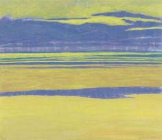 Léon Spilliaert : Gele en paarse marine