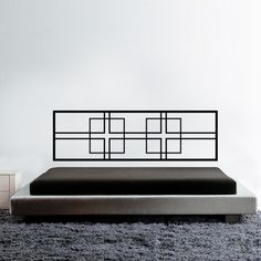 Give your bedroom a quick and easy makeover with this bed headboard wall sticker.. Simply peel and stick the modern wall decal on the back wall of your bed to get a decorative and stylish look for your bedroom. $59.95