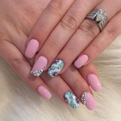 Forget the nails... check the BLING!!!