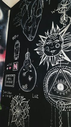 Hippy Room 617696905129644582 - hippie room decor 550635491943918406 – Source by Source by rozannebonnette Chalkboard Wall Bedroom, Blackboard Wall, Chalk Wall, Chalkboard Art, Bedroom Murals, Wall Murals, Lego Bedroom, Childs Bedroom, Bedroom Decor