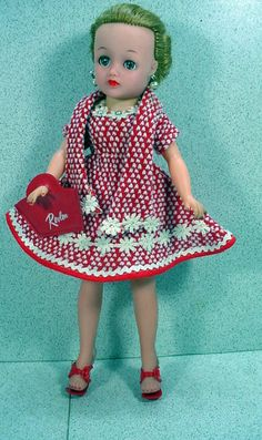 1960 Ideal Little Miss Revlon, in Sears Exclusive Ensemble!  LOVED MINE!!! Got her instead of a Barbie.....