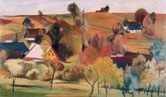 Trampota Jan (1889 – 1942) | Sophistica Gallery Cubism, Art Auction, Landscape, Gallery, Painting, Google Search, Scenery, Roof Rack, Painting Art