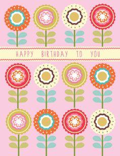 Louise Anglicas - Louise Anglicas - LAS_Retro Pop flower card.jpg