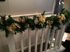 We made these festive decorations for the Bay Horse Inn