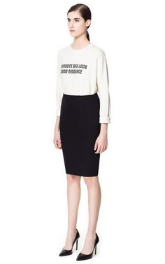 PENCIL SKIRT BASIC - Skirts - Woman - ZARA United States
