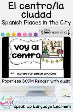 60 La Ciudad El Pueblo For Spanish Class Ideas Spanish Class Spanish Learning Spanish