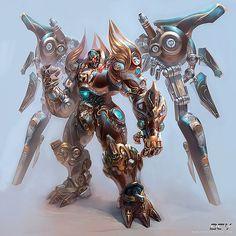 Character Design by Yu Cheng Hong #character #digital #digitalart #cgi #design