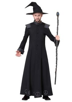 This Men's Warlock Costume will have you mixing potions and casting spells in no time! Pair this with a warlock staff to complete the look! Beard Halloween Costumes, Mens Halloween Makeup, Halloween Men, Witch Costumes, Easy Costumes, Costume Ideas, Halloween 2020, Sorceress Costume, Carnival