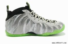 Cool Grey/Volt/Camo Nike Air Foamposite One