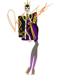 Disney villains, Evil Queen by Daren J