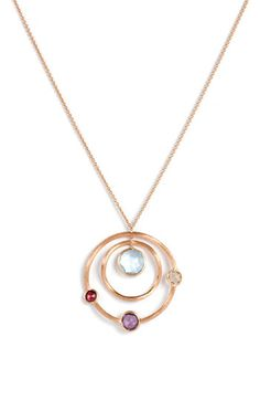 Marco Bicego 'Jaipur' Double Circle Pendant Necklace