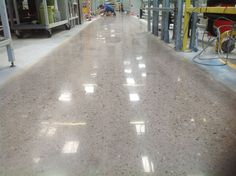 polished concrete - en industrias