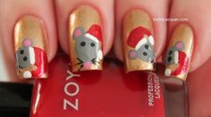 Mouse | Community Post: 14 Insanely Cute Animal Nail Art