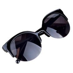da37d610027 Fashion 2017 Vintage Sunglasses women men Cat Eye Semi-Rim Round Sunglasses  for Men Women Sun Glasses oculos feminino gift