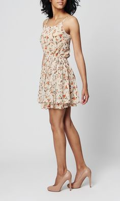 Lucca Couture sleeveless floral dress. Lovely for spring! $89.99