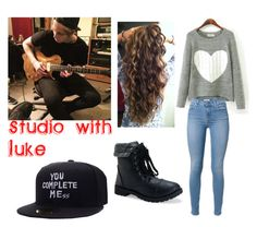 """Studio with Luke"" by emily24-i ❤ liked on Polyvore featuring Aéropostale"