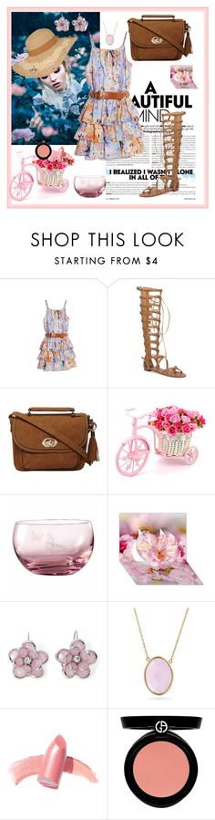 """""""Summer Formal"""" by nashama ❤ liked on Polyvore featuring GUESS by Marciano, Vince Camuto, Dorothy Perkins, Royal Albert, Mixit, Bling Jewelry, Elizabeth Arden, Armani Beauty, dress and clothes"""