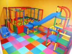 toy aesthetic shared by on We Heart It Kids Indoor Gym, Indoor Playroom, Baby Playroom, Interior Design Hd, Childhood Images, Soft Play, Backyard Playground, Toddler Fun, Room Themes