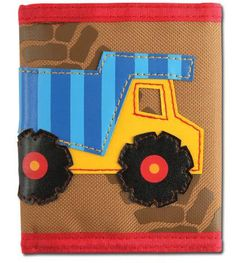 Gator Tots - Stephen Joseph Kids Little Boy Wallet Construction, $8.95 (http://www.gatortots.com/stephen-joseph-kids-little-boy-wallet-construction/)