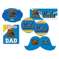 Ucla Bruins Proud Dad 6-Piece Decal Set, Multicolor