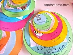 This blog contains ideas for teaching map skills globes