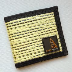 Sailcloth Wallet made from up-cycled laminate sailcloth. Available in Kevlar, carbon, Pentex etc