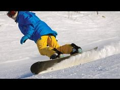 How to Toe Turn on a Snowboard - How to Snowboard - YouTube