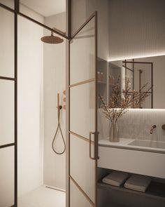 Home Room Design, Home Interior Design, Interior Architecture, Interior And Exterior, Interior Decorating, Minimalist Bathroom, Modern Bathroom, Small Bathroom, Apartment Interior