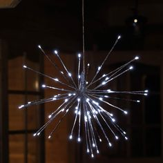 #Weihnachten #Stern zur #Weihnachtsdekoration Der #LED #Stern mit 80 LED hat strahlenförmig abgehende LED-Äste und kann frei in der Wohnung aufgehängt werden zur #Weihnachtsdeko