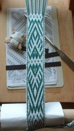 1 finished repeat. 8 inches long. First time took 6 hours. Note: pattern too! Bit complicated...