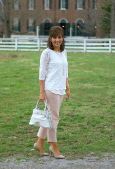 Over 40 or not, these pants are a great addition to your spring and summer wardrobe. Try these pants with a white shirt for a real fashion statement!