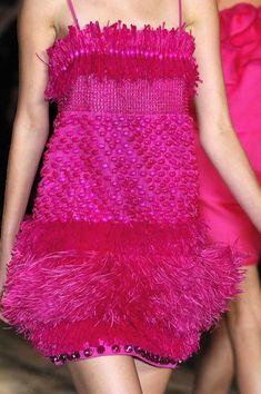 Lanvin at Paris Fashion Week Spring 2008 - Details Runway Photos Pink Fashion, Fashion Week, Paris Fashion, Fashion Beauty, Fashion Dresses, Bright Pink, Red And Pink, Hot Pink, Glamorous Chic Life