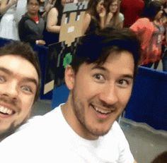 Photobombing level: Jack.                               Jack and Mark