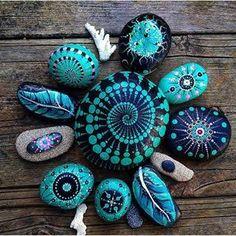 Image result for mandalas on rocks