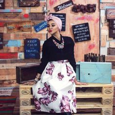 Improve your personal style and get more stylish and modest hijab ideas this year. In this hijabi collection you can see a lot of new and chic trends that you Hijab Fashion 2016, Muslim Fashion, Fashion Wear, Fashion Outfits, Mode Turban, Turban Hijab, Hijab Style, Turban Style, Modest Outfits