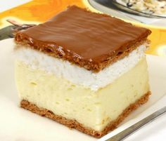 *** Gastro: Perfect homemade creamy recipe – Sweet World Ideas Hungarian Desserts, Hungarian Cake, Hungarian Recipes, My Recipes, Sweet Recipes, Cookie Recipes, Dessert Recipes, Bread Dough Recipe, Sweet And Salty