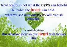 Beautiful Pictures With Inspirational Quotes Real beauty is not what