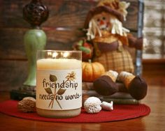 Large Friendship Needs.... Candle Wrap #25 www.thisilldocreations.com