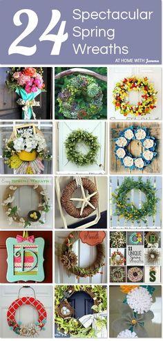 24 Spectacular Spring Wreaths