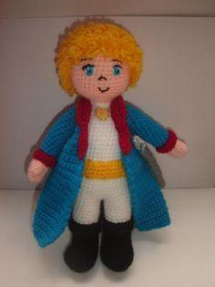 Designer Crochet Amigurumi Patterns Merida Warrior Princess : El Principito, little prince, le petit prince, crochet ...