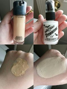 For pale, fair , light, porcelain skin : if you have a hard time finding a foundation that matches your light skin try using a white foundation to mix in with the darker ones . This one is manic panic dream tone foundation. Makes the perfect shade :)