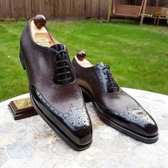 Ascot Shoes — Our friend Tyshawn first pair of custom made...